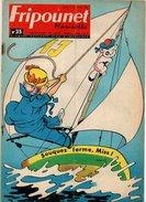 Fripounet Et Marisette N°35 Une Huître Vous Raconte Son Histoire - Partition Le Chasseur Et Le Coucou De 1965 - Fripounet