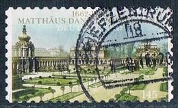 2012  350. Geburtstag Von Matthäus Daniel Pöppelmann  (selbstklebend) - [7] Federal Republic