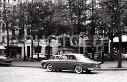 1963 BOULEVARD ST GERMAIN PARIS FRANCE 35mm  AMATEUR NEGATIVE NOT PHOTO NEGATIVO NO FOTO VOLVO AMAZON - Other