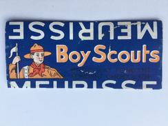 "MEURISSE "" BOY SCOUTS "" Emballage Chocolat Fondant"" ANVERS - Advertising"