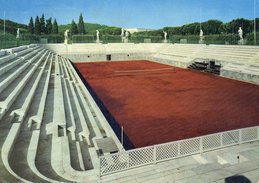 Cart. Roma - Foro Italico - Campo Olimpico Di Tennis - Tennis