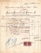 1899 MILANO - TIPOGRAFIA BERNARDONI - Italia