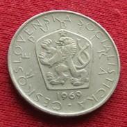 Czechoslovakia 5 Korun 1969 KM# 60  Lt 478 Tchecoslovaquie Checoslovaquia - Czechoslovakia