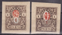 SOUTH ARMY 1919 Mi 6B,ERROR, GENERAL DENIKIN MNH**,MH*