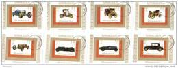 Ajman - Motor Cars - 8 X 1v MS - Imperf - Voitures