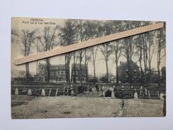 """HERSTAL """" Pont De La Rue Des Grès """" Animée ( édit,Vandenen , Herstal) - Herstal"""