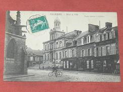 VILLEDIEU LES POELES  1910  /   HOTEL DE VILLE   / CIRC OUI  / EDIT - Villedieu