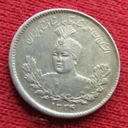 Iran 500 Dinars 1915 1334 KM# 1054 Silver   Lt 481 Irão Persia Persien - Iran