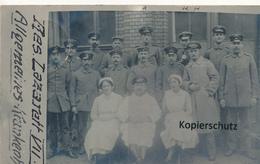 FK Mannheim, Res.-Lazarett VII, Allgemeines Krankenhaus - Mannheim