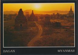 °°° 3941 - MYANMAR - BAGAN - GAWDAWPALIN TEMPLE - With Stamps °°° - Myanmar (Burma)
