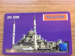 Tajcom 20 DM  Moschee   -  Little Printed  -   Used Condition