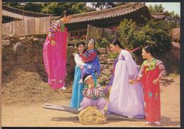 °°° 3945 - SOUTH KOREA - KOREAN TRADITIONAL CUSTOMS SEASAW °°° - Corea Del Sud