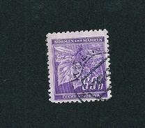 N° 44 Tilleuls Timbre Bohème Et Moravie (1940) Oblitéré CECHY A MORAVA - Bohemia & Moravia