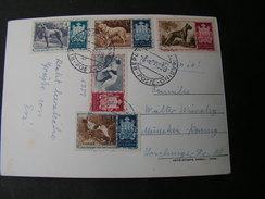 San Marino 1958 Karte - San Marino