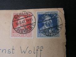 Berlin Cv. 1947 - Sowjetische Zone (SBZ)