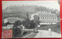 "CPA  19  CORREZE- TULLE ""LA CASERNE DE LA BOTTE"" - Ed CC&CC MT/IL 1907 - Tulle"