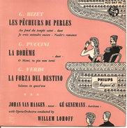 """BIZET PUCCINI VERDI WILLEM LOHOFF 7""""  NM/NM - Opera"""