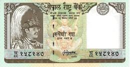 NEPAL 10 RUPEES ND (1999) P-31b UNC [NP241b] - Népal