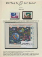 1356/ Espace (space)  Neuf ** MNH Russie (Russia Urss USSR) Vostok 2 1 PAGE Tirage MATE