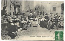 LANGEAC - Groupe De Dentellières (Maison Boitias) - Langeac
