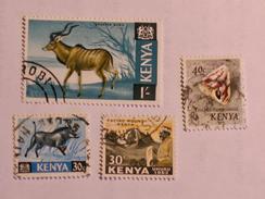 KENYA  1963-69   LOT# 2  ANIMAL - Kenya (1963-...)