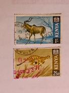 KENYA  1966-69   LOT# 3  ANIMAL - Kenya (1963-...)