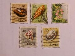 KENYA  1971-83   LOT# 4  SEA SHELLS - Kenya (1963-...)
