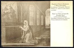 WOLUWE-St-LAMBERT - Chapelle De Marie La Douloureuse - Triptyque Volet G - Non Circulé - Not Circulated - Nicht Gelaufen - Woluwe-St-Lambert - St-Lambrechts-Woluwe