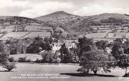 Abergavenny, The Sugar Loaf Mountain And Nevill Hall Hospital (pk34483) - Wales