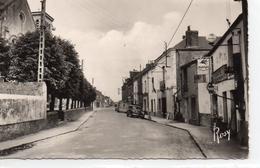 """Sainte-Luce-sur-Loire.. Rue Principale Café Tabac Voitures Pub """"Butagaz"""" """"Mobilgas"""" - Other Municipalities"""