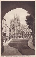 Canterbury Cathedral From Christchurch Gateway (pk34490) - Canterbury