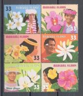 Marshall Islands - 1999 Floral Decorations MNH__(TH-12835) - Marshall Islands