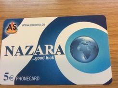 Nazara - 5 €  AS Comu.de  -  Little Printed  -   Used Condition