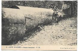 COTE D'IVOIRE - Acajou Tronçonné - Côte-d'Ivoire