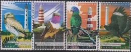 Cuba 2017 Lighthouses And Birds 4v MNH