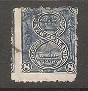 003505 New Zealand 1899- 8d Used Perf 11 - Oblitérés