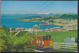 °°° 3948 - NEW ZELAND - WELLINGTON - THE KELBURN CABLE CAR °°° - Nuova Zelanda