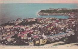 Monaco Monte Carlo Vue Generale Prise De Beausoleil - Monaco
