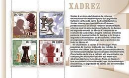 SAO TOME E PRINCIPE 2007 SHEET CHESS ECHECS XADREZ AJEDREZ SCHACH SCACCHI St7304a - Sao Tome And Principe