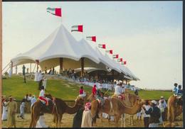 °°° 3953 - UNITED ARAB EMIRATES - CAMEL RACING °°° - Emirati Arabi Uniti