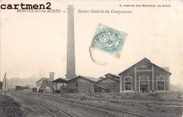 MONTCEAU-LES-MINES STATION CENTRALE DES COMPRESSEURS USINE INDUSTRIE MINE 71 SAÔNE-ET-LOIRE BOURGOGNE - Montceau Les Mines