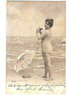 1900s RISQUE BATH COSTUME WOMAN - EDIT ALTEROCCA N. 4856 ( 243 ) - Non Classés