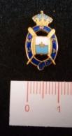 """06795 """"REALE SOCIETA' CANOTTIERI CEREA 1863- DISTINTIVO IN METALLO E SMALTI"""" ORIGINALE - Rowing"""