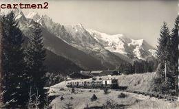 ARGENTIERE LE MONT-BLANC TRAIN TRAMWAY 74 HAUTE-SAVOIE - France