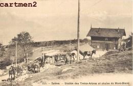 SALEVE STATION DES TREIZE-ARBRES MONT-BLANC REFUGE CHALET ANES 74 HAUTE-SAVOIE - France