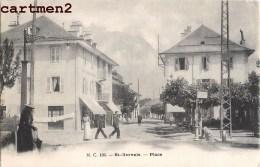 SAINT-GERVAIS-LES-BAINS LA PLACE ANIMEE 74 HAUTE-SAVOIE - Saint-Gervais-les-Bains