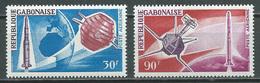 Gabon Poste Aérienne YT N°45/46 Conquete De L'espace Neuf/charnière * - Gabon (1960-...)