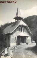 CARTE PHOTO : SAINT-GERVAIS-LES-BAINS EGLISE 74 HAUTE-SAVOIE - Saint-Gervais-les-Bains