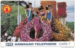 HAWAII - Aloha Festival-Floral Float, Tirage 6500, Mint - Hawaii