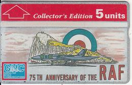 "GIBRALTAR - RAF(Collector""s Edition), CN : 308A, Tirage 8000, Mint - Flugzeuge"